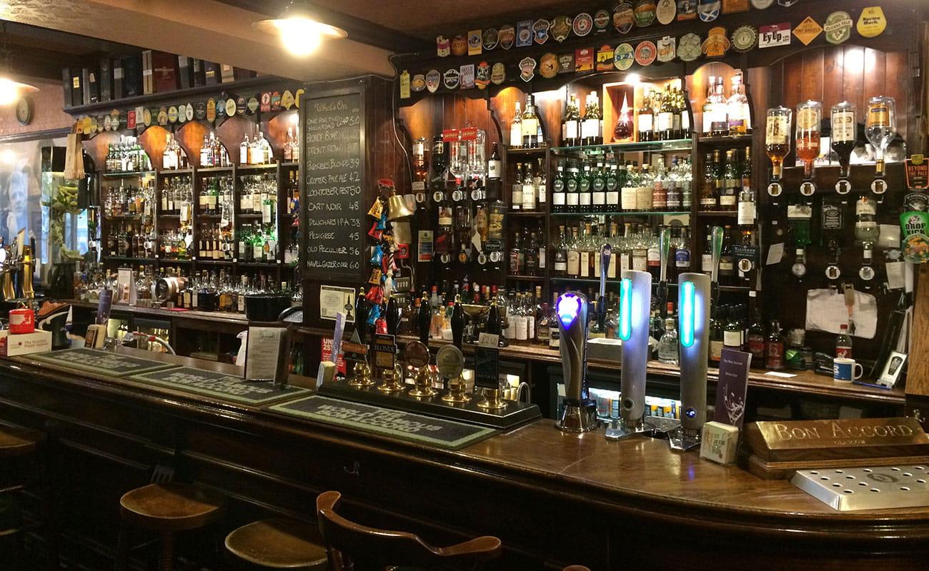 Bon Accord Glasgow Ale House Malt Whisky Bar And Whisky Shop